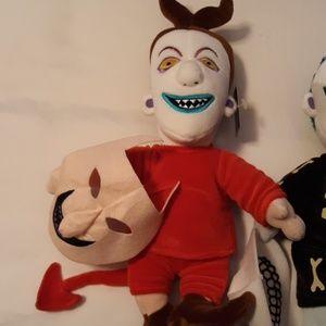 Disney Other - Disney Nightmare before Christmas dolls